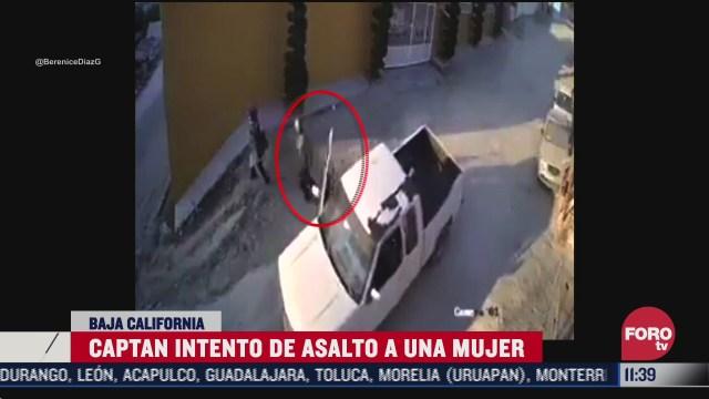 captan intento de asalto a una mujer en tijuana