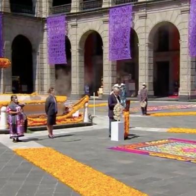 El presidente Andrés Manuel López Obrador decretó tres días de Luto Nacional por las víctimas del coronavirus