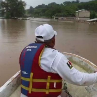 Lluvias dejan cuatro personas muertas en Chiapas