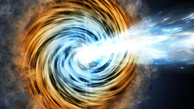 El telescopio Gran Canaria encontró el agujero negro más lejano que pertenece a una familia de galaxias raras