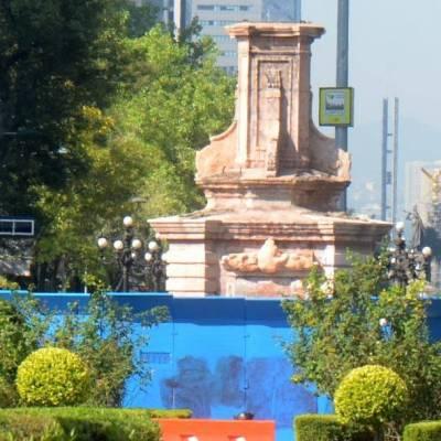 Sheinbaum no descarta que estatua de Colón no regrese a Reforma