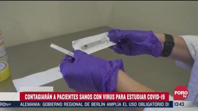 contagiaran a pacientes con virus para estudiar covid 19 en reino unido