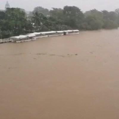 600 mil personas afectadas tras desfogue de presa Peñitas en Tabasco