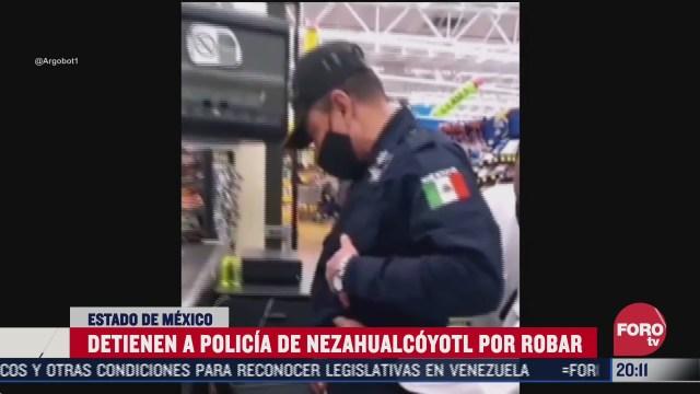detienen a policia de neza por robar mercancia en tienda de autoservicio