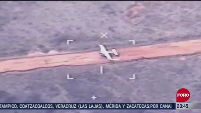 ejercito mexicano decomisa avioneta con cocaina en quintana roo
