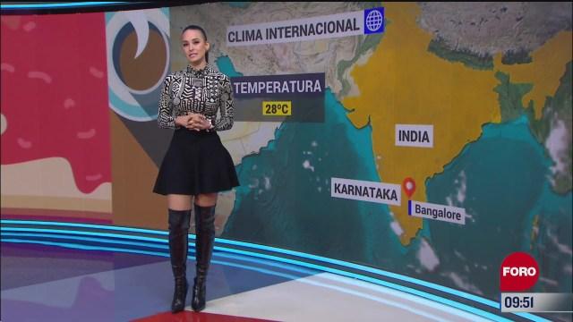el climaenexpreso internacional del 27 de octubre del