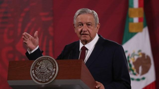 El presidente de México, Andrés Manuel López Obrador, en conferencia mañanera