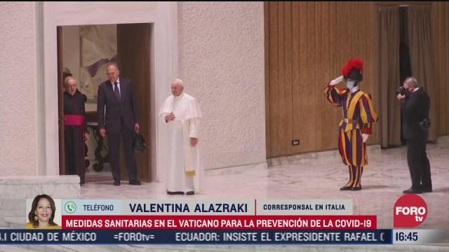 el vaticano refuerza medidas sanitarias ante rebrotes de covid