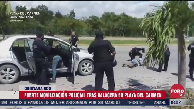 enfrentamiento en playa del carmen deja un muerto y dos heridos