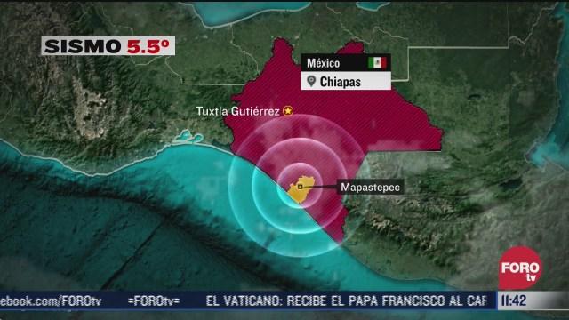enjambre sismico sacude chiapas en las ultimas horas