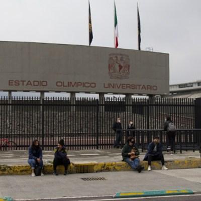 Estudiantes en la UNAM