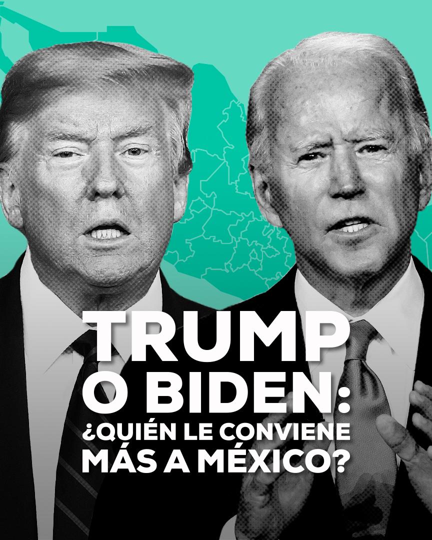 Donald Trump Joe Biden México