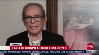 fallece arturo lona obispo de tehuantepec