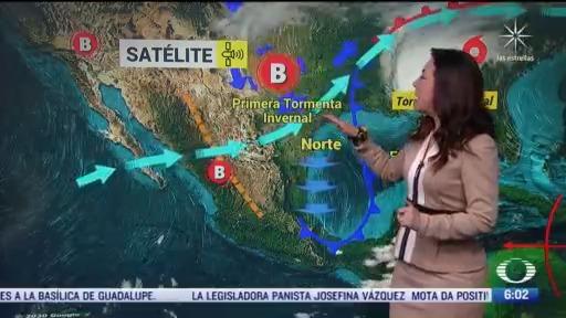 frente frio 9 provocara bajas temperaturas en mexico