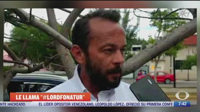 funcionario de cancun aplica el charolazo y se gana el nombre de lord fonatur