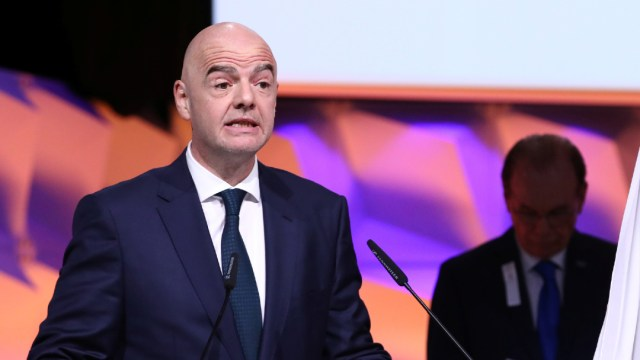 Gianni Infantino, presidente de la FIFA, da positivo a COVID-19