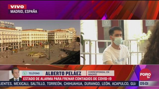 gobierno espanol declara estado de emergencia en madrid