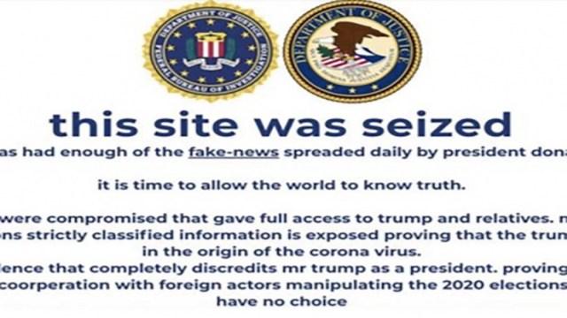 Hackean brevemente página de campaña de Donald Trump