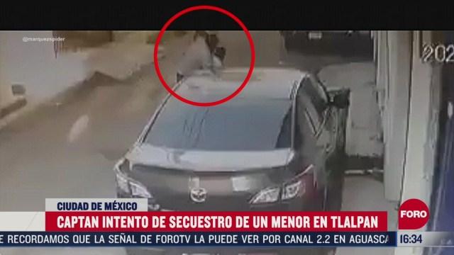 hombre intenta secuestrar a un nino en tlalpan