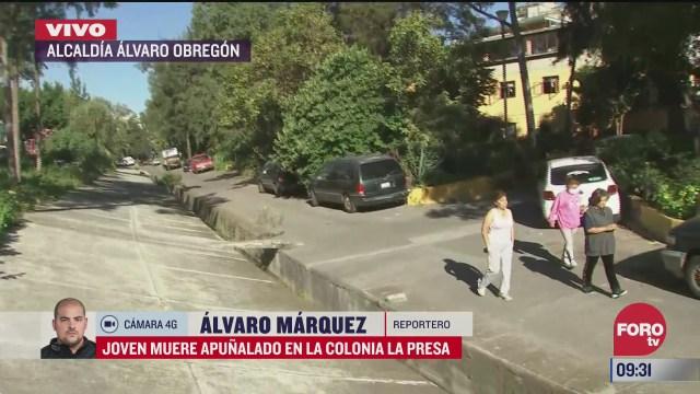 hombre muere apunalado en la alcaldia alvaro obregon
