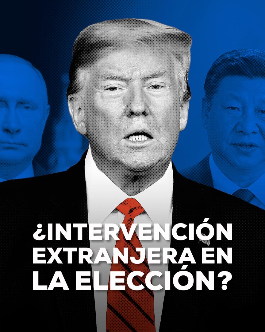 Elecciones EUA 2020 Intervención Imagen