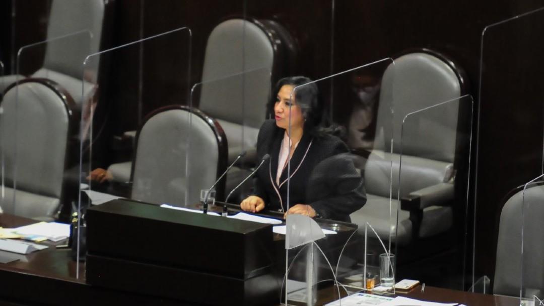 Irma Eréndira Sandoval, secretaria de la Función Pública