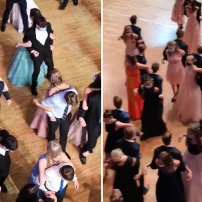 Video: Organizan baile