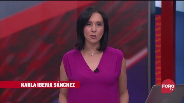 las noticias con karla iberia programa del 12 de octubre del
