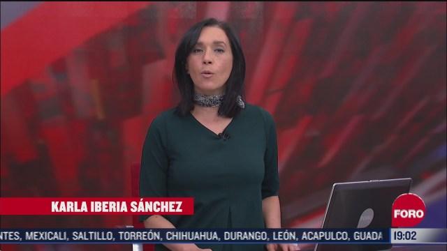 las noticias con karla iberia programa del 20 de octubre del