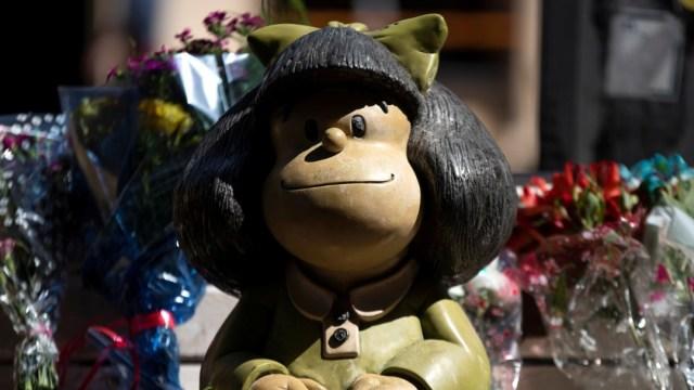 estatua de mafalda
