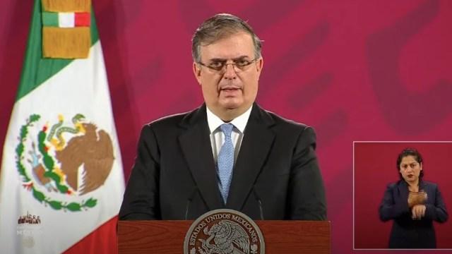 Estados Unidos adopta semáforo epidemiológico COVID-19 de México, anuncia Ebrard