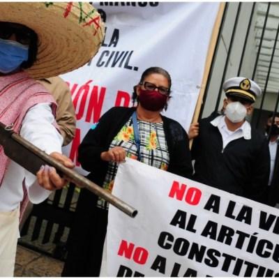 Suspenden comparecencia de Marcelo Ebrard ante el Senado por protesta al exterior