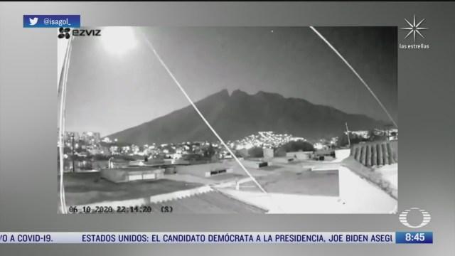 meteorito cruza cielo de nuevo leon y tamaulipas