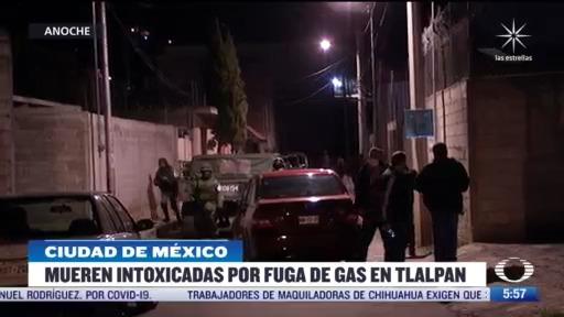 mueren cuatro personas por fuga de gas en la cdmx