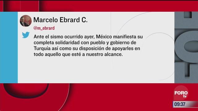 no hay reporte de mexicanos afectados por sismo en turquia
