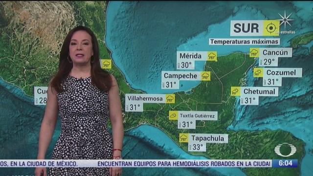 onda tropical 42 provocara lluvias fuertes en la peninsula de yucatan
