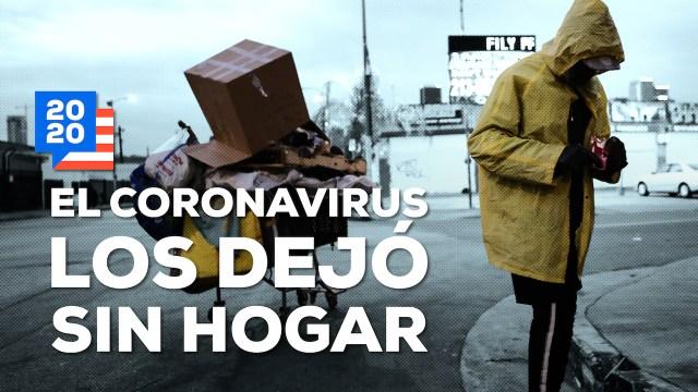 Coronavirus EUA Desempleo Personas Situación Calle