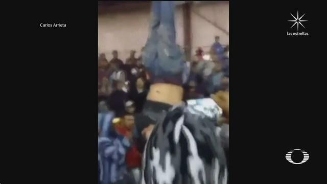 policia impide linchamiento en capacuaro michoacan