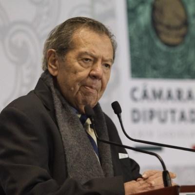'No nos han ganado', dice Muñoz ledo ante triunfo de Mario Delgado