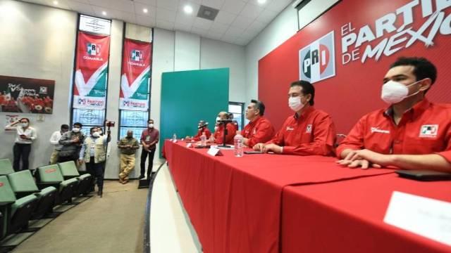 El presidente del CEN del PRI, Alejandro Moreno, dice que el partido ganó las elecciones en Coahuila e Hidalgo
