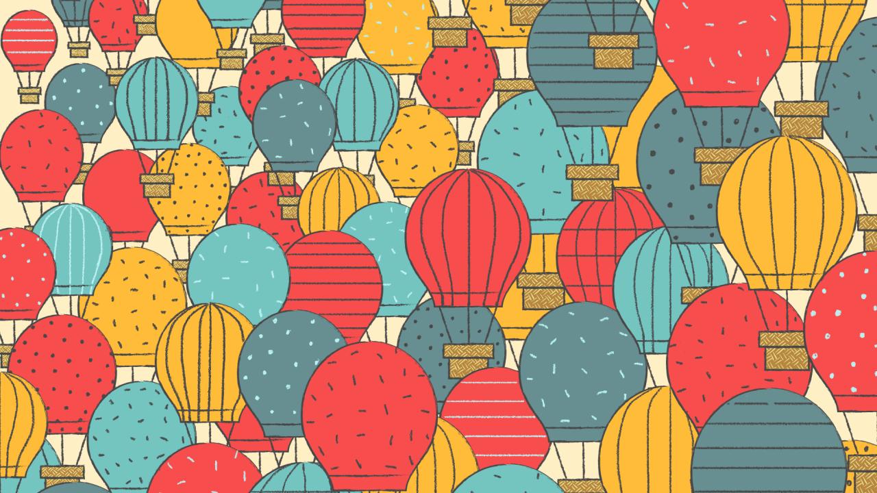 globos aerostaticos y papalotes