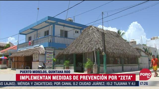 quintana roo habilita refugios por tormenta tropical zeta