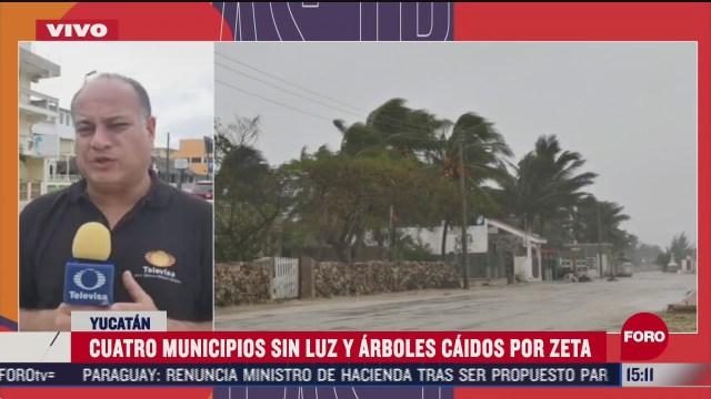 reportan saldo blanco en yucatan tras paso de huracan zeta