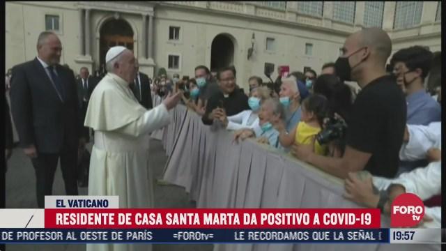 residente de el vaticano da positivo a covid
