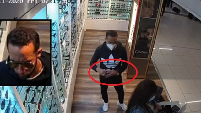 Hombre-roba-lentes-en-tienda-del-AICM