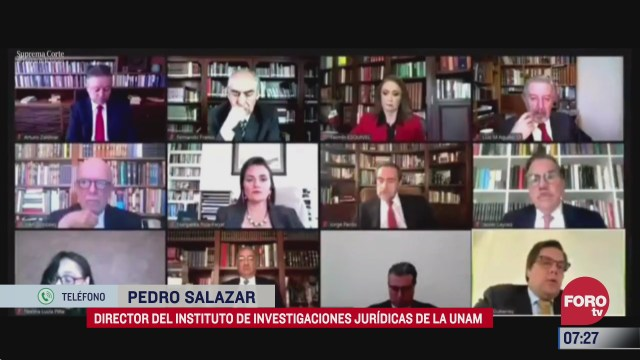 scjn avala consulta sobre juicio a expresidentes