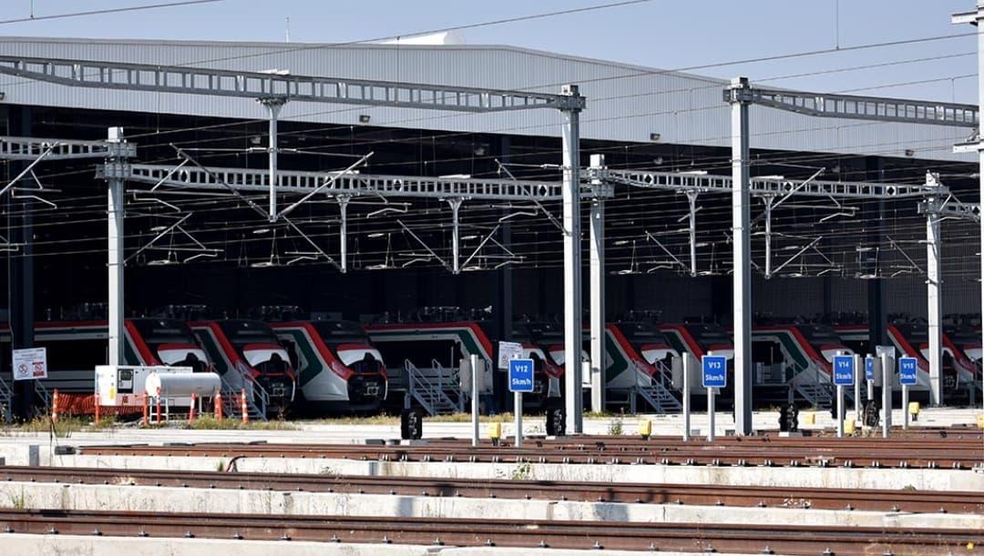 SCT presenta avances de Tren Interurbano México-Toluca