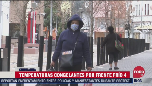 se preven temperaturas congelantes en chihuahua