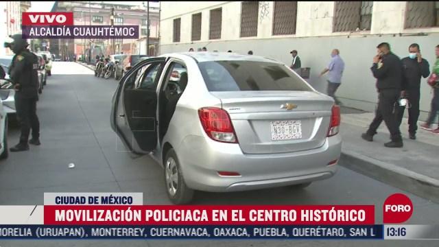 se registra balacera en el centro historico hay un muerto