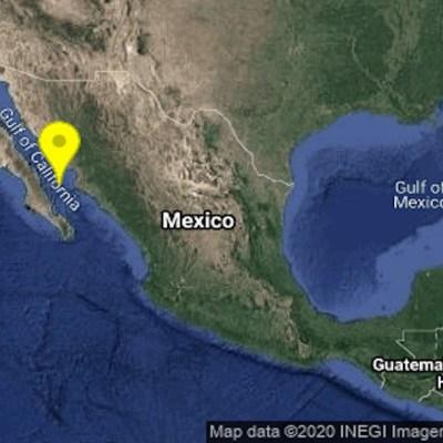 Se registra sismo de magnitud 4.7 en Ahome, Sinaloa